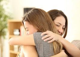 L'emozione, la potenza di un abbraccio